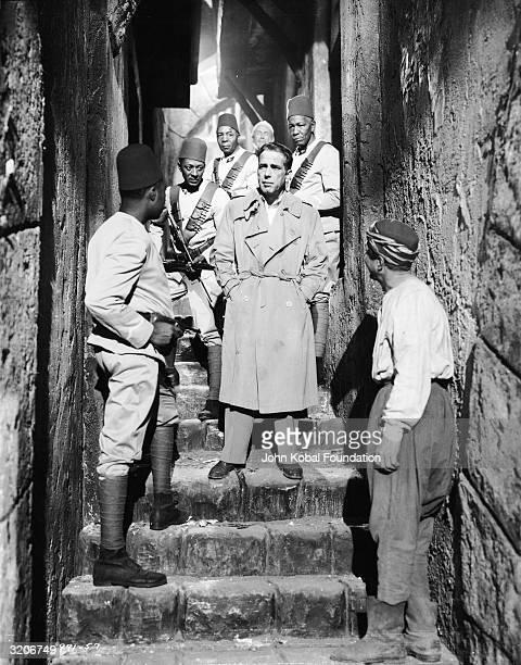 Humphrey Bogart stars as Harry Smith a gun runner in 1925 Damascus in 'Sirocco' directed by Curtis Bernhardt