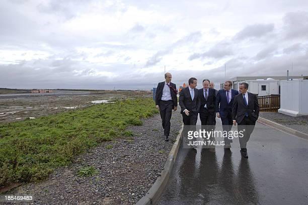 LR Humphrey CadouxHudson Managing Director of Nuclear New Build at British Energy Group British Prime Minister David Cameron Vincent de Rivaz EDF...