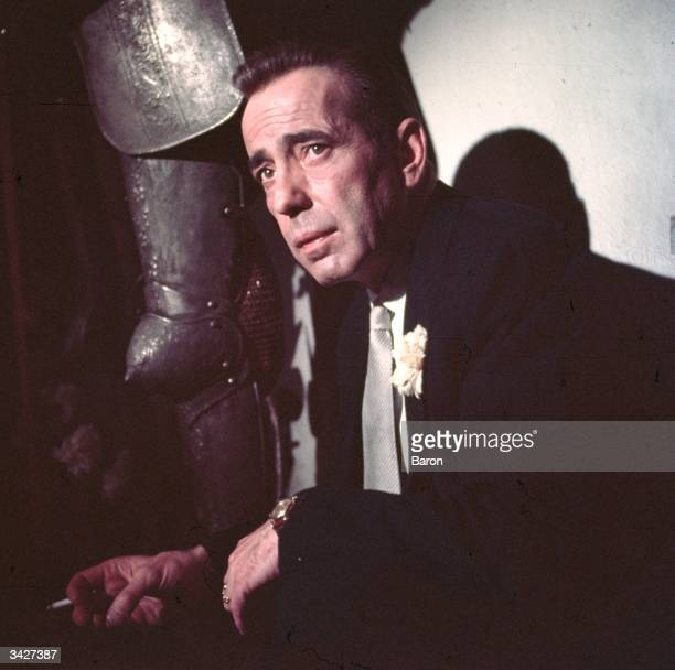 Humphrey DeForest Bogart best known for his detective roles in film noir