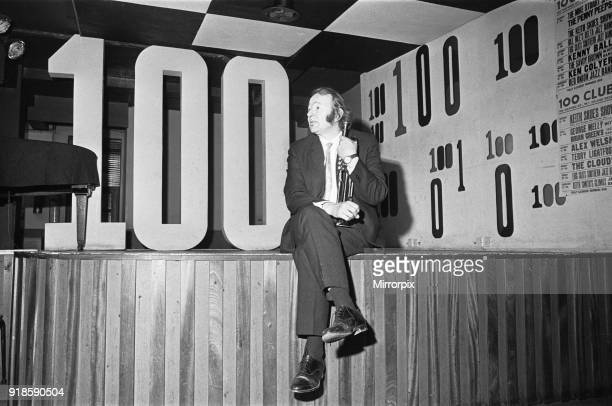 Humphrey Lyttelton Jazz musician seen here at the 100 Club on Oxford Street 13th February 1965