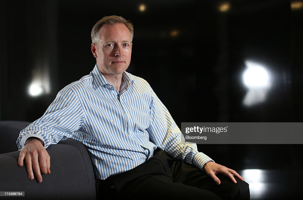 Humphrey Singer, group finance director of Dixons Retail Plc, poses for a photograph in London, U.K. on Thursday, July 25, 2013. The owner of the PC World and Currys chains is training staff to improve customer relations and is selling higher-margin services to overcome cheaper online competitors. Photographer: Chris Ratcliffe/Bloomberg via Getty Images