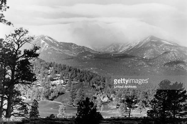 Humphreys Peak, Arizona, 1960s.
