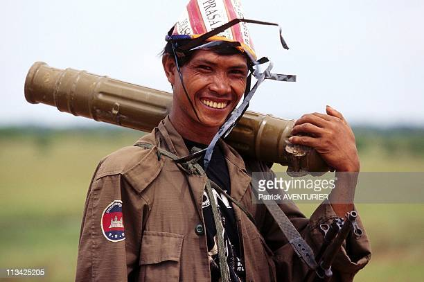Hun Sen'S Forces Launch Offensive Against Khmer Rouge In Siem Reap Province On July 1St 1997 In Cambodia