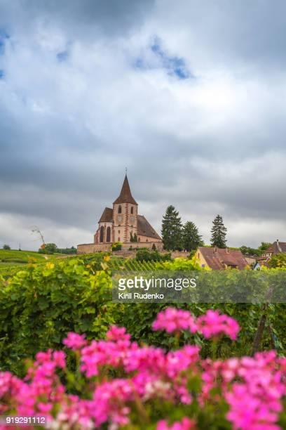Hunawihr's Fortified Church (Église Saint-Jacques-le-Majeur), Alsace, France
