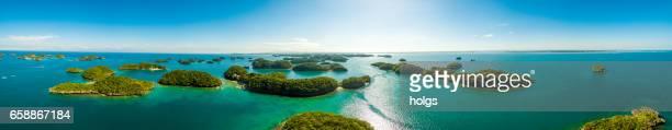 hundred islands nationalpark, pangasinan, philippinen - philippinen stock-fotos und bilder