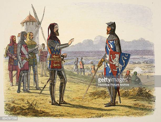 Hundred Years War the Battle of Crecy Edward III refused to assist his son at Crecy and sent words of encouragement with Sir Thomas Norwich for the...