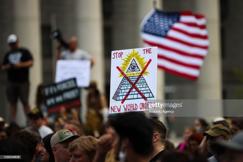 "No mandates ""Freedom Rally"" in NYC : News Photo"