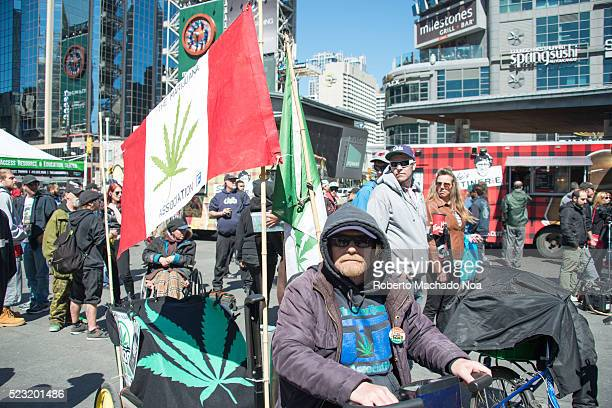 Hundreds attend Toronto 420 pot rally at Yonge-Dundas Square. Organizers say that this weeks annual pot protest will be transformed into a...