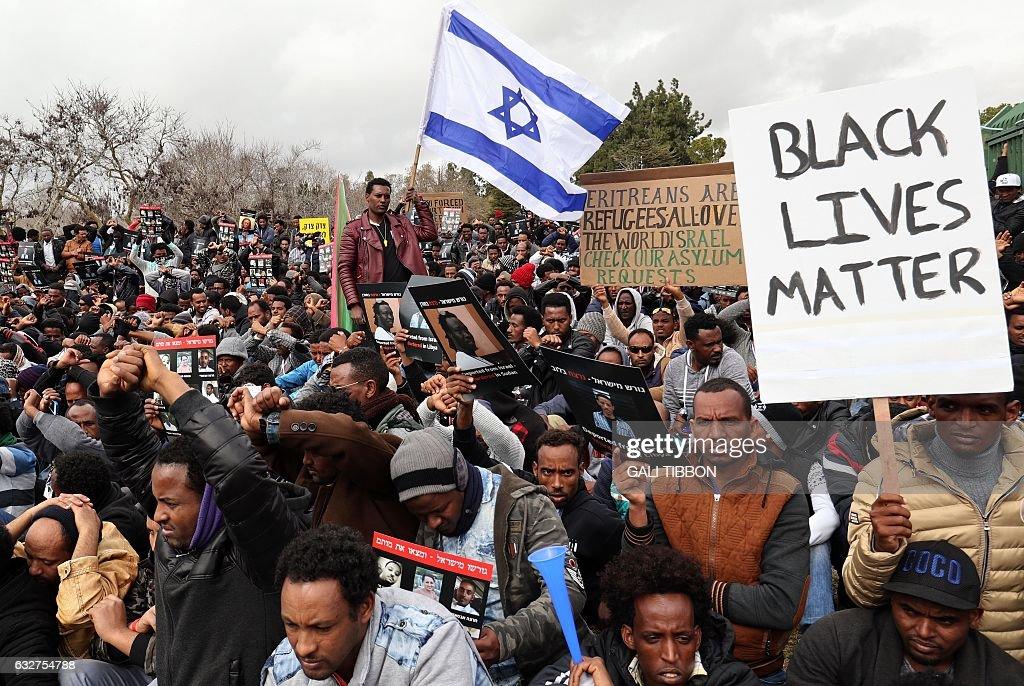 ISRAEL-AFRICA-ERITREA-MIGRANTS : Nachrichtenfoto