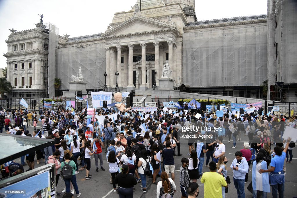 Protest in Argentina : News Photo