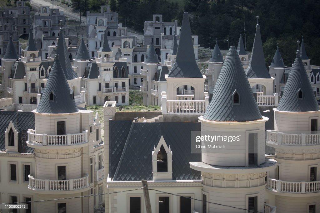 Turkey's Abandoned 'Castle' Community : Photo d'actualité