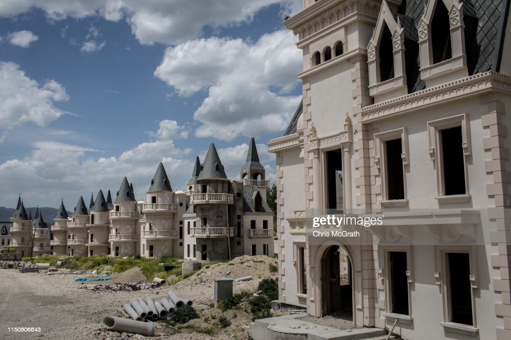 Turkey's Abandoned 'Castle' Community : Photo d'actualité