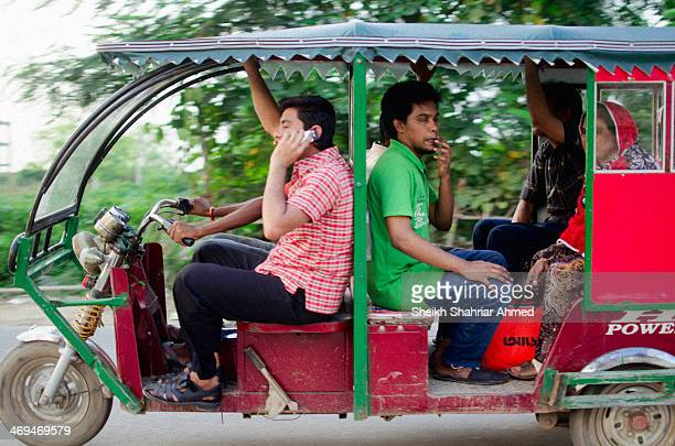 Hundreds of Electronic Tricycles are flooding the streets of Eastern Dhaka. Running on rechargeable battery and electronic motor, operating cost is...