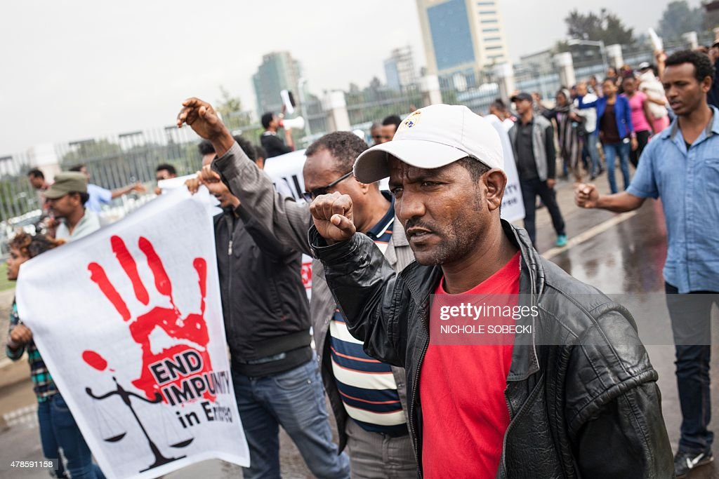 ETHIOPIA-POLITICS-ERITREA : News Photo