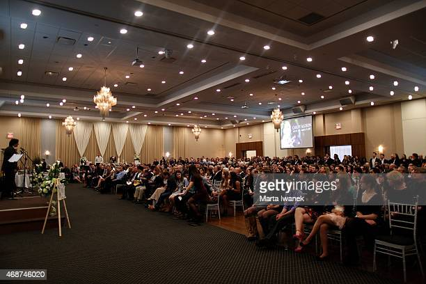 APRIL 4 Hundreds of friends and family gathered to celebrate the life of Carley Allison at Millennium Gardens Banquet Centre in Brampton April 4 2015...