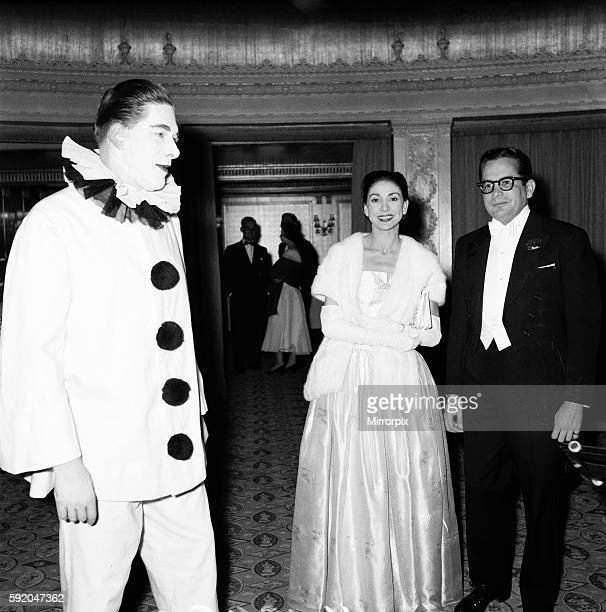 Hundreds of guests connected with opera attended the Opera Ball, many in fancy dress and danced till 3am. Pictured: George Henry Hubert Lascelles,...