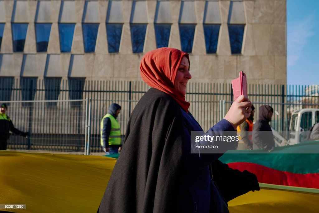 Kurdish Protesters March Against Attack on Afrin