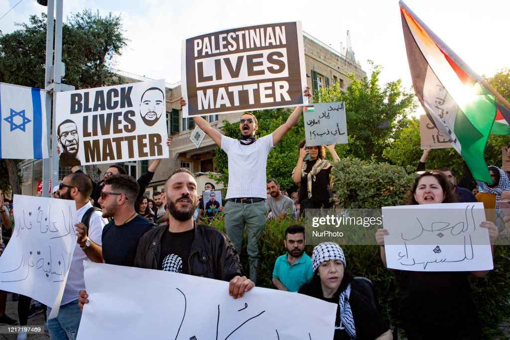 Demonstration for George Floyd in Israel : News Photo