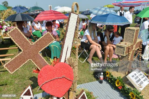 Hundreds of people dressed in traditional folk costumes with wreaths from their Parishes attended the 2017 edition of the annual Harvest Festival in...