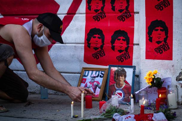 ARG: Diego Armando Maradona dies at 60