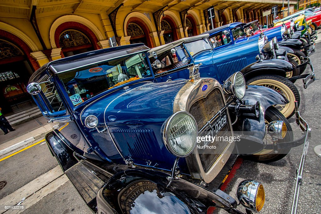 Classic car event in Sao Paulo Photos and Images | Getty Images