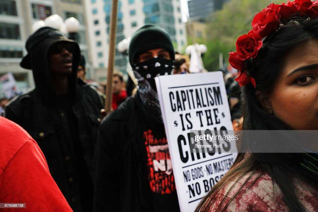 Thousands Attend May Day Protests Across The U.S. : News Photo