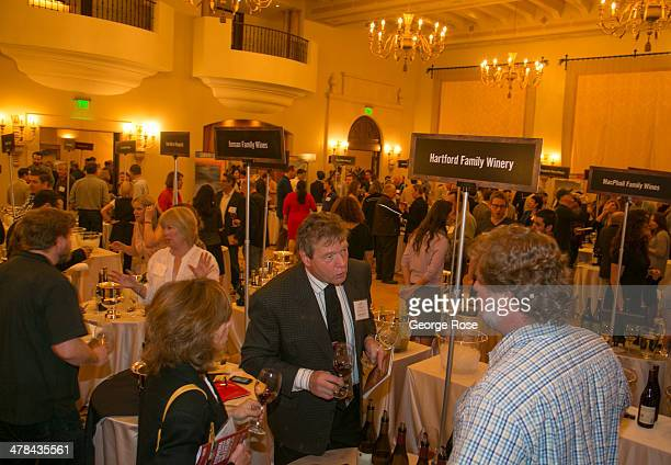 Hundreds of restaurant sommeliers attend a wine tasting at the Montage Hotel on March 3 in Beverly Hills California Millions of tourists flock to the...