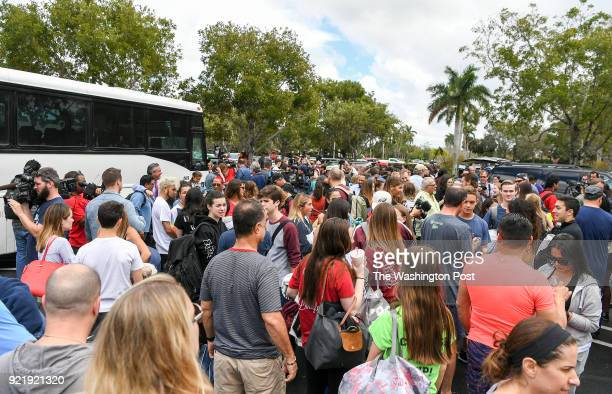 Hundreds of students board busses to take their message to Tallahassee to protest the Seventeen students and teachers were killed on Wednesday at...