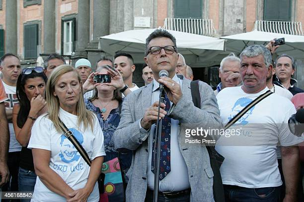 Hundreds of supporters gathered at Piazza Dante with banners and placards demanding justice for Ciro Esposito's death Esposito died 50 days after he...