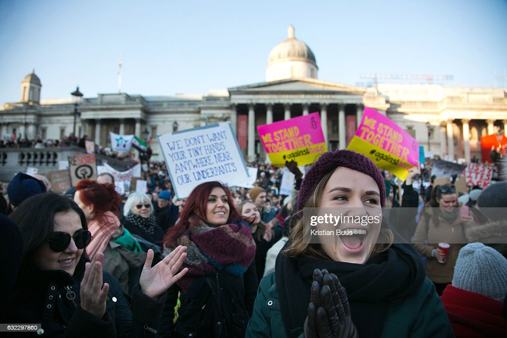Womens March On London : News Photo