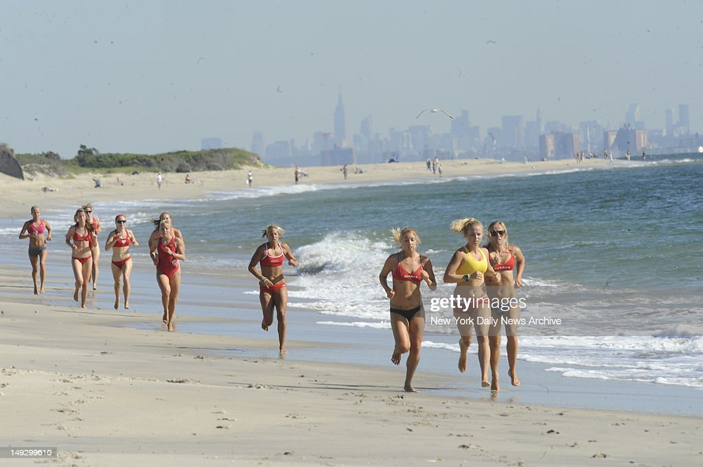 All-Women Lifeguard Tournament : News Photo