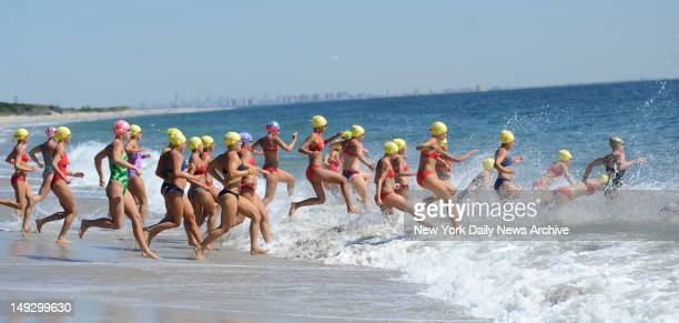 Hundreds of women from across the Northeast flocked to Sandy Hook Unit in Highlands NJ Wednesday to dive into the physically demanding National Park...
