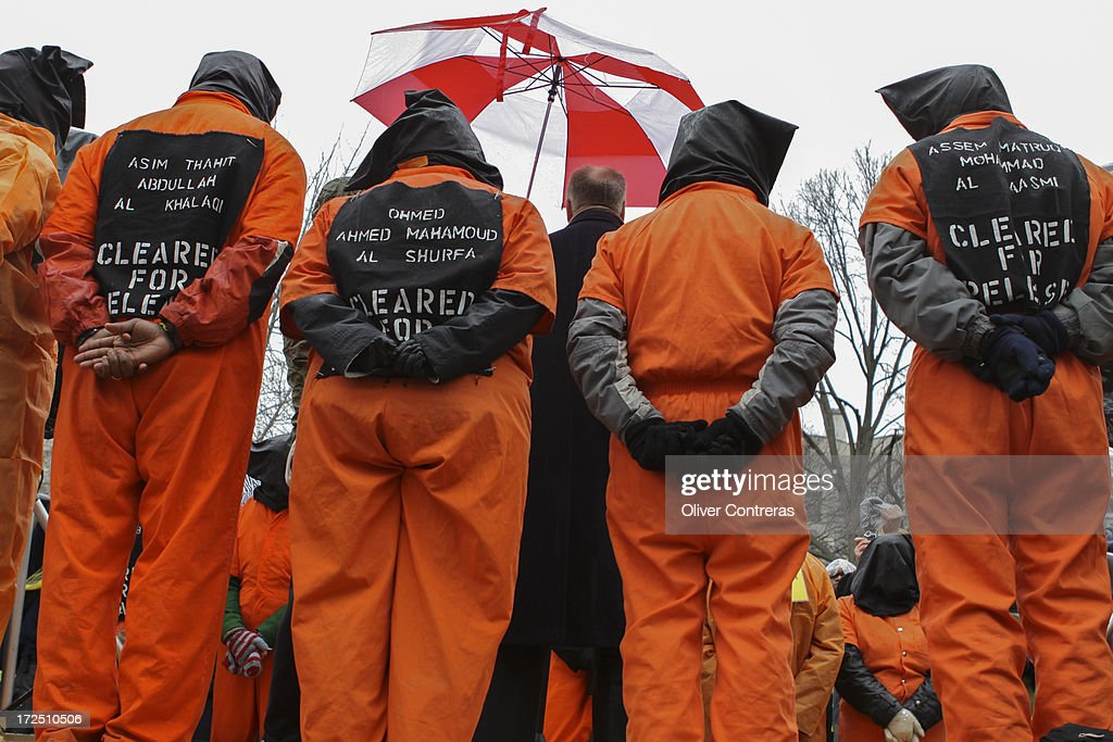 Guantanamo protest : News Photo