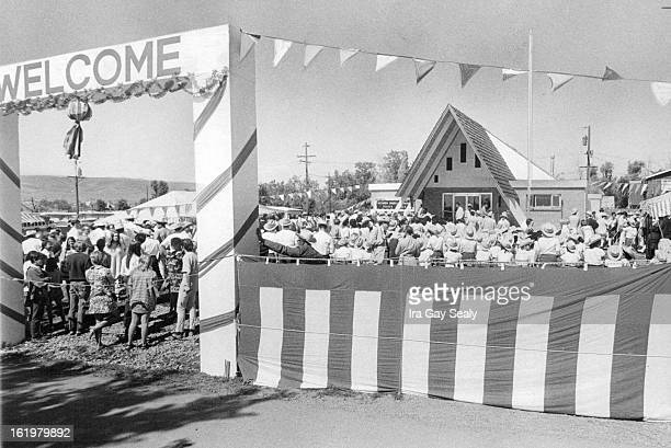 JUL 4 1970 JUL 7 1970 JUL 11 1970 Hundreds Welcome Opening Of New Church Those attending the celebration wore cowboy hats boots and sheriff's badges...