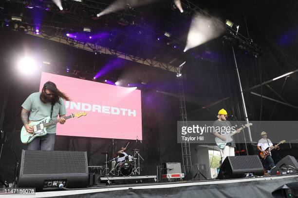 Hundredth performs onstage for Day 1 of 2019 Governors Ball Music Festival at Randall's Island on May 31 2019 in New York City