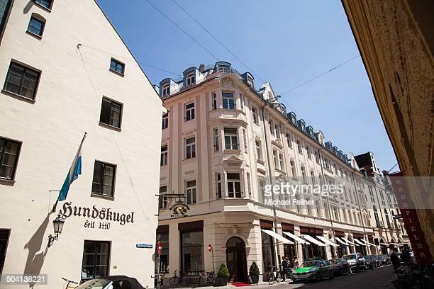 CONTENT] Hundskugel in Hackenstraße is Munich's oldest restaurant Munich Bavaria Germany