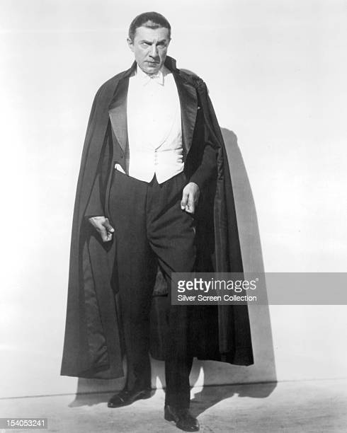 Hungarian actor Bela Lugosi as the vampire Count Dracula in 'Dracula' directed by Tod Browning 1931