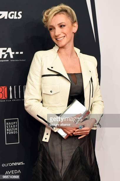 Hungarian actress Alexandra Borbely arrives for the 30th European Film Awards 2017 in Berlin Germany 9 December 2017 Photo Maurizio Gambarini/dpa