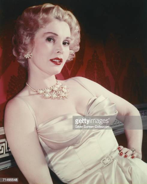 Hungarian actress Zsa Zsa Gabor circa 1955