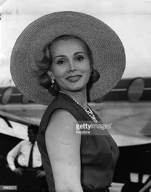 Hungarian actress Zsa Zsa Gabor