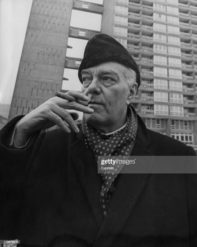 Hungarian architect and designer Erno Goldfinger (1902 – 1987) moves into a three bedroom flat in Balfron Tower, Poplar, London, 23rd February 1968. Goldfinger, the architect of the building, is living in the building to discover the advantages and disadvantages of life in a high-rise property.