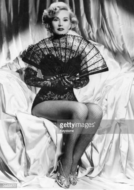 Hungarian born actress Zsa Zsa Gabor