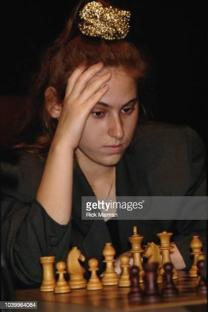 Hungarian chess player Judith Polgar.
