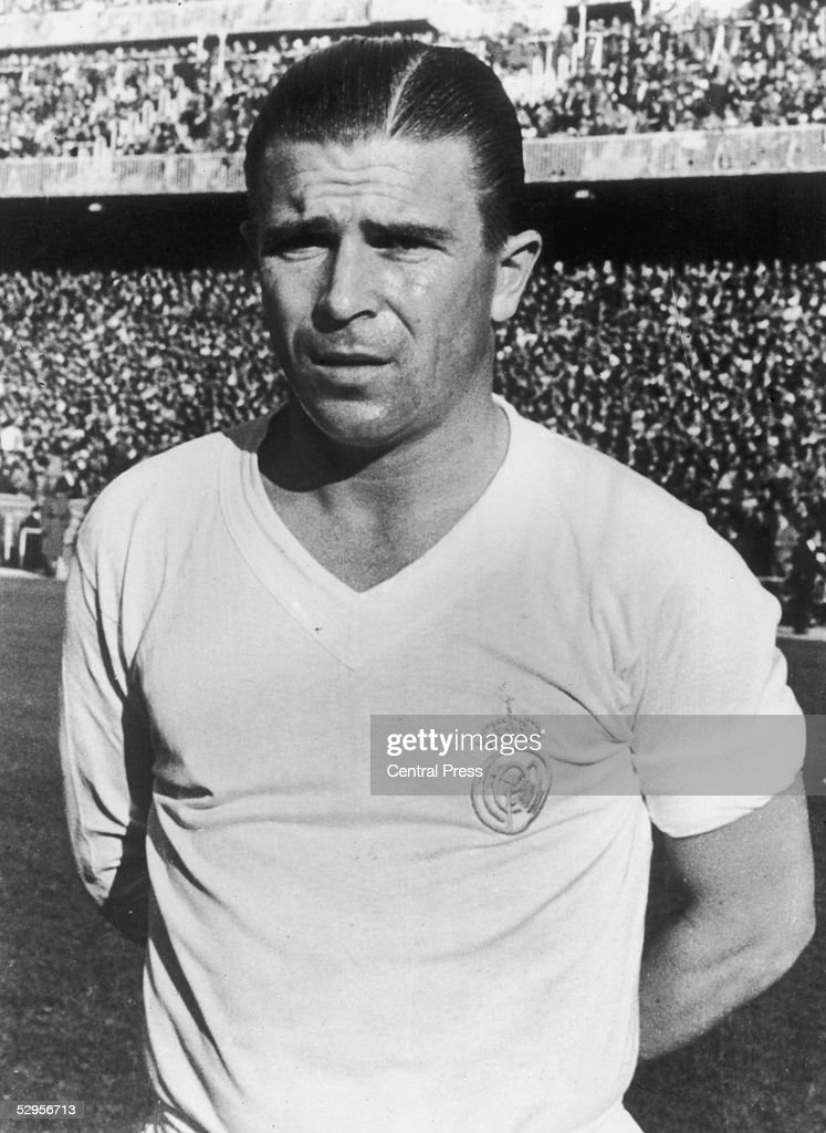 Hungarian footballer Ferenc Puskas, the inside-left of Real Madrid FC, December 1959.