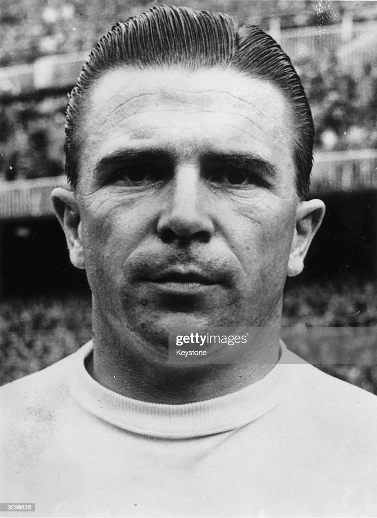 Hungarian footballer Ferenc Puskas who was the star of the 'Magic Magyars' Hungarian national team which dominated European football in the early 1950's and also played for Real Madrid.