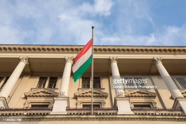 hungarian government building - hungary stock-fotos und bilder