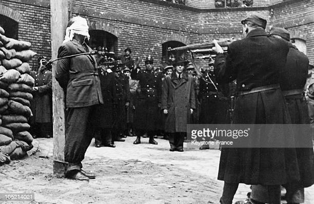 Hungarian journalist and fascist politician Ferenc Rajniss is executed by firing squad, for collaboration with the Nazis in his role as a minister in...
