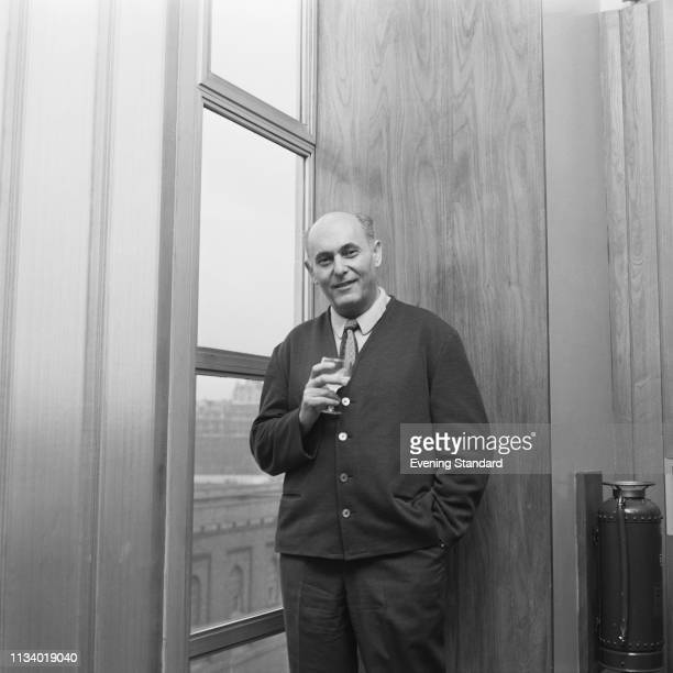 Hungarian orchestral and operatic conductor Georg Solti , UK, 16th April 1969.