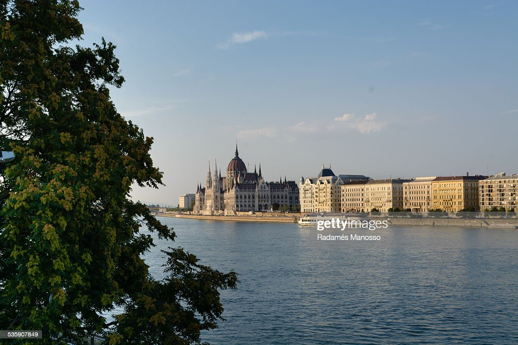 Hungarian parliament building : Stock Photo
