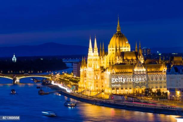 sede do parlamento húngaro - sede do parlamento húngaro - fotografias e filmes do acervo